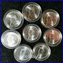 08-2020 Krugerrand South Africa 1oz. 999 (b. U.) Silver Coins