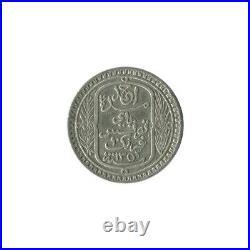 10 Francs Tunisie Argent 1934