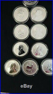 10 x Silver Krugerrand (10 x coins) 2017 50th anniversary coin PU (premium coin)