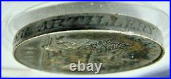 1853 Victoria Silver South Africa Medal Awarded Jas. W. Hart Engineer Artillery