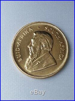 1981 1oz full gold Kruggerand