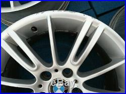 (1) Rear BMW OEM 18 M Wheel Spider Style 193 E90 E92 E93 328i 335i Rim 18x8.5