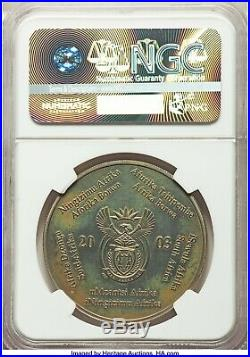 2003 South African 1 oz. Gold Krugerrand & Silver Tiffany Diamond Coin Pairing