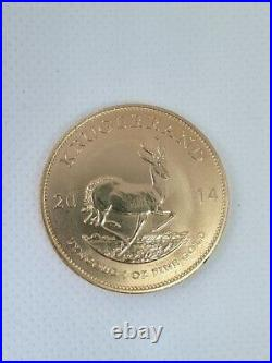 2014 1oz full gold Krugerrand