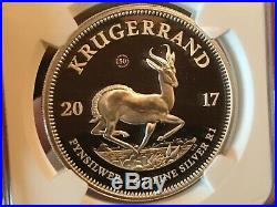 2017 Krugerrand Proof NGC PF70 UC Cert#4648403-002, 15K Minted, Keystone Coin