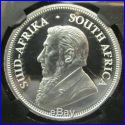 2017 SOUTH AFRICA 50th ANNIVERSARY SILVER KRUGERRAND NGC PF70UC FIRST RELEASES