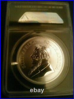 2017-SP70 50th Ann. First Year Silver Krugerrand limited Edition 1 of 250 withprivy