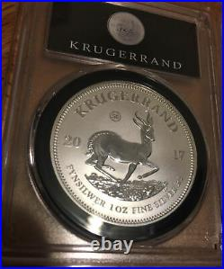 2017 Silver Krugerrand 1oz 50th Anniversary PCGS SP70 South Africa