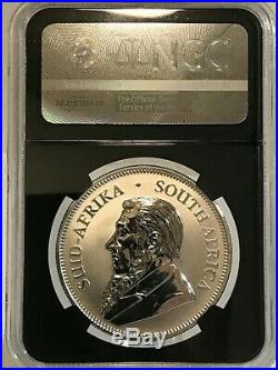 2017 Silver Krugerrand, South Africa Rand, NGC SP70, 50th Anni. Early Releases