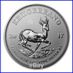 2017 South Africa 1 oz Silver Krugerrand Premium BU SKU #105155