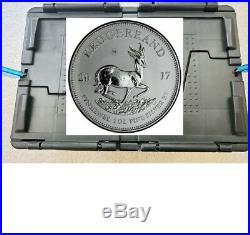 2017 South Africa 1st yr 50th Silver Krugerrand 1 oz 1 Rand BU Sealed 250/BOX