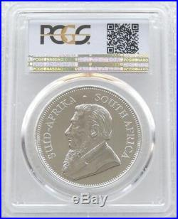 2017 South Africa 50th Anniversary Krugerrand Privy Silver 1oz Coin PCGS SP70