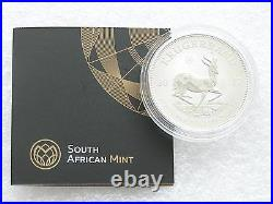 2017 South Africa 50th Anniversary Krugerrand Silver 1oz Coin with Coa