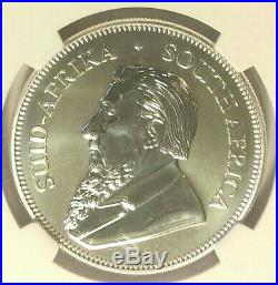 2017 South Africa First Release 1 oz 50th Anniversary Silver Krugerrand NGC SP70