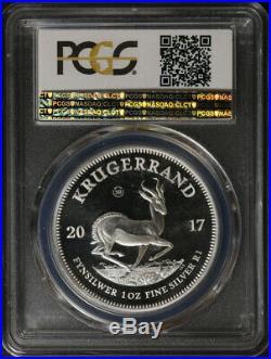 2017 South Africa Krugerrand PCGS PR70 DCAM 50th Anniversary First Strike Label