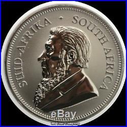 2017 South Africa Krugerrand Premium 1 oz Silver Black Ruthenium 24k Gold Coin