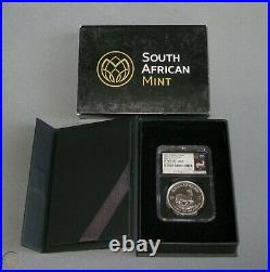 2017 South Africa Silver Krugerrand Ngc Pf-70 1st Release 50th Anv Trusted