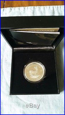 2017 silver PROOF Krugerrand. 15,000 Mintage. All Original Mint Packaging