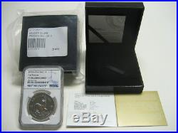 2018 1oz Silver PROOF Krugerrand NGC PF70 FIRST RELEASES withOGP & LOW COA #249