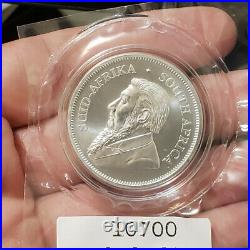2018 KRUGERRAND great wall PRIVY south africa SILVER RAND BICE 1 oz sealed bu ms