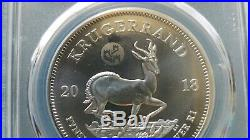 2018 Silver Krugerrand PCGS MS70 Great Wall Privy ONLY Minted for Beijing Show