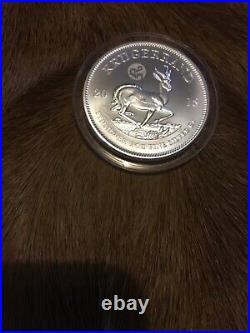 2018 Silver Krugerrand Privy Mark Of The Great Wall Of China