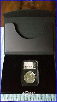 2018 Silver PROOF Krugerrand NGC PF70 UC First Releases Tumi Tsehlo Signed RARE
