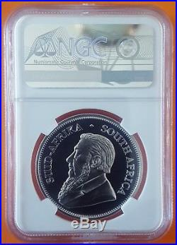 2018 Silver Proof Krugerrand NGC PF70 Ultra Cameo (Perfect Grade) SN 950
