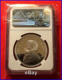 2018 South Africa 1oz PROOF Silver Krugerrand NGC PF69UCAM First Release