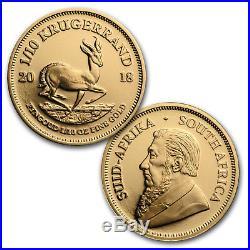 2018 South Africa 6-coin Gold & Silver Krugerrand Proof Set SKU#167371