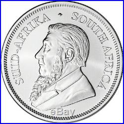 2018 South Africa Silver Krugerrand 1 oz 1 Rand BU 1 Roll Twenty Five 25 Coins