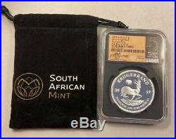 2019 Proof Krugerrand Elephant Privy NGC PF70 FDOI SA Mint Bag Tsehlo