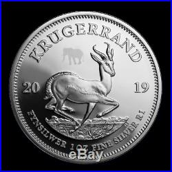 2019 South Africa 2-Coin Silver Krugerrand & Elephant Proof Set IN HAND