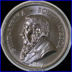 2019 South Africa Krugerrand Premium 1 oz Silver Black Ruthenium 24k Gold Coin