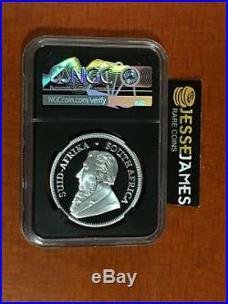 2019 South Africa Proof Silver Krugerrand Ngc Pf70 First Day Issue Tumi Signed