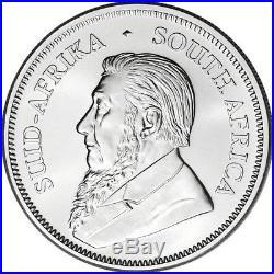2019 South Africa Silver Krugerrand 1 oz 1 Rand BU Ten 10 Coins