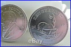 2019 x 10 ounces silver bullion Krugerrand coins 10 x 1oz Silver bullion