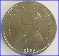 2020 1 oz. 999 South African Krugerrand Holographic & Ruthenium Silver Coin