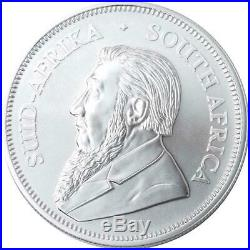 2020 SA Silver Krugerrand 1 oz Coin Lot of 100