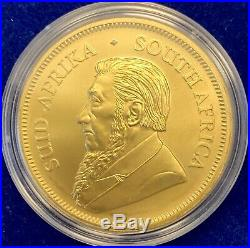 2020 SOUTH AFRICA 1 OZ SILVER KRUGERRAND SPACE GOLD KRUGERRAND withBox Coa Capsule