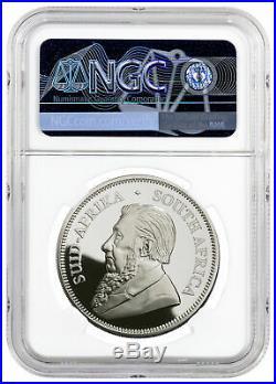 2020 S. Africa 1 oz Silver Krugerrand Coin NGC PF70 Springbok PRESALE SKU59912