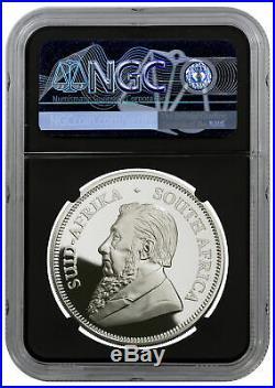 2020 S. Africa 1oz Silver Krugerrand Proof R1 Coin NGC PF70 FDI PRESALE SKU59913