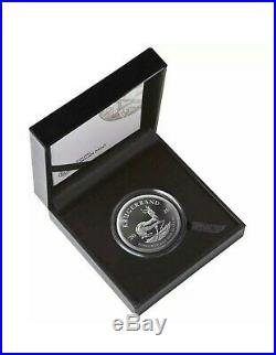 2020 South Africa Krugerrand Silver Proof 2oz Coin Box Coa Mintage 10,000