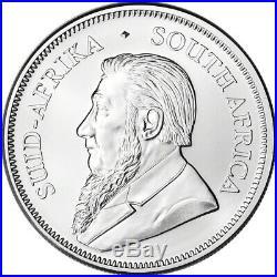 2020 South Africa Silver Krugerrand 1 oz 1 Rand BU Five 5 Coins