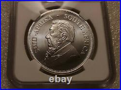 2020 South Africa Silver Krugerrand 1oz NGC MS70
