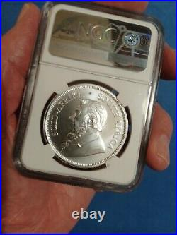 2021 SOUTH AFRICA 1oz SILVER KRUGERRAND NGC MS 70 Very Nice Coin