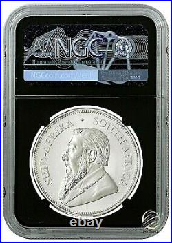 2021 South Africa 1 oz Silver Krugerrand Coin NGC MS70 FR BC Springbok Label