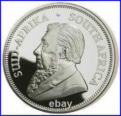 2021 South Africa 2 oz Silver Krugerrand Proof R2 Coin GEM Proof PRESALE