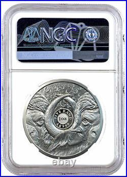 2021 South Africa Big 5 Buffalo 1 oz Silver Proof R5 Coin NGC PF70 UC FR