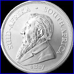 25 x 2020 1oz Silver Krugerrand 1 ounce silver bullion coin in SA Mint tube #2
